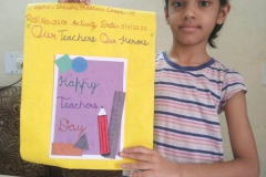 Activity - Card Making for Class-II to V PRS 07-09-2020