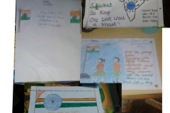 Activity - collage making by primary students PRS 17-08-2020