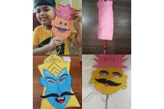 Activity - Navratri Celebration for pre-primary and primary school students PRS 19-10-2020