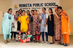 Cambridge Curriculum Training at RPS, Bhilai (29.3.19)BRIGHT IDEA' contest held at Sanjay Rungta Group ( 27.2.19)