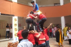 Dahi Handi & English Play held at RPS (08-09-2018) RPS