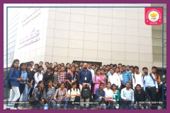 Educational visit of Management and  Commerce students to HGS, Raipur 27-09-2017 RCST
