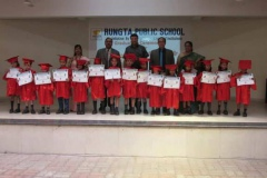 Kindergarten Graduation Day Ceremony at Rungta Public School, Bhilai (25.3.19)