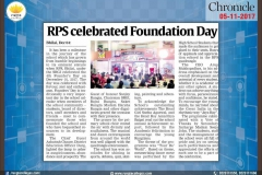 Media Coverage - Foundation DayRPS-06-12-2017