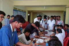 Mega blood donation camp at Rungta Dental College SRGI (24-08-2018) SRGI