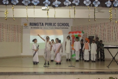 Pre - Independence Day celebration of Pre- Primary and Primary Wings. RPS (14-082018) RPS