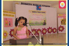Pre-Primary children of RPS celebrated grandparents day 16-09-2017 RPS