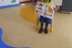 Reading Program -Today's Readers Tomorrow's Leaders beguns today in RPS by Nursery  (29-10-2018) RPS