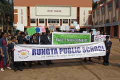 RPS, Bhilai Carried Out Environmental Conservation Rally 18.2.19