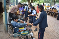 RPS CELEBRATES PRE-DIWALI AT MOTHER TERESA OLD-AGE HOME, SUPELA (02-11-2018) RPS