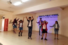 RUNGTA PUBLIC SCHOOL HOSTED INDIAN AND AFRICAN DANCE COMPETITION 21.4.19