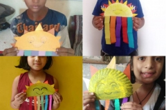 Saturday Activity - Sun and Rainbow Making for Class-II & III-15-12-2020 RPS