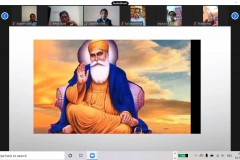 Special Assembly on Gurunanak Jayanti by primary students RPS 28-11-2020