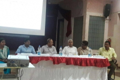 Students and faculty of RSRRCET at NIT Raipur 13-10-2016  RSR