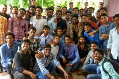 The industrial visit of Mechanical 7th sem students of GDRCET to Gangrel Dam, under the supervision of faculties 25-10-2016  GDR
