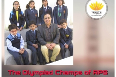 The Olympiad Champs of RPS (30-11-2018 ) RPS