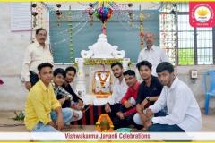 Vishwakarma Puja held in SRGI campus on (17-09-2018) SRGI
