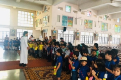 Visit to Worship Places by Class - I (25-10-2018) RPS